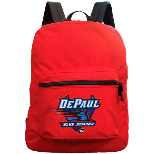 "CLDPL710-RED: 16"" Made in USA Premium Backpack"